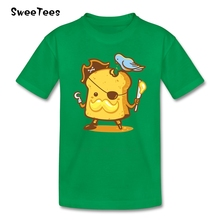 Bread n Butter Pirate T Shirt kids Cotton Short Sleeve Crew Neck Tshirt children Costume 2017 Hot Sale T-shirt For boys girls(China)