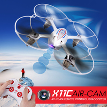 Syma X11C 4CH 2.4GHz Mini Quadcopter with 2.0MP Camera HD,X11 (without camera) Micro Drone Aircraft RC Helicopter Dron