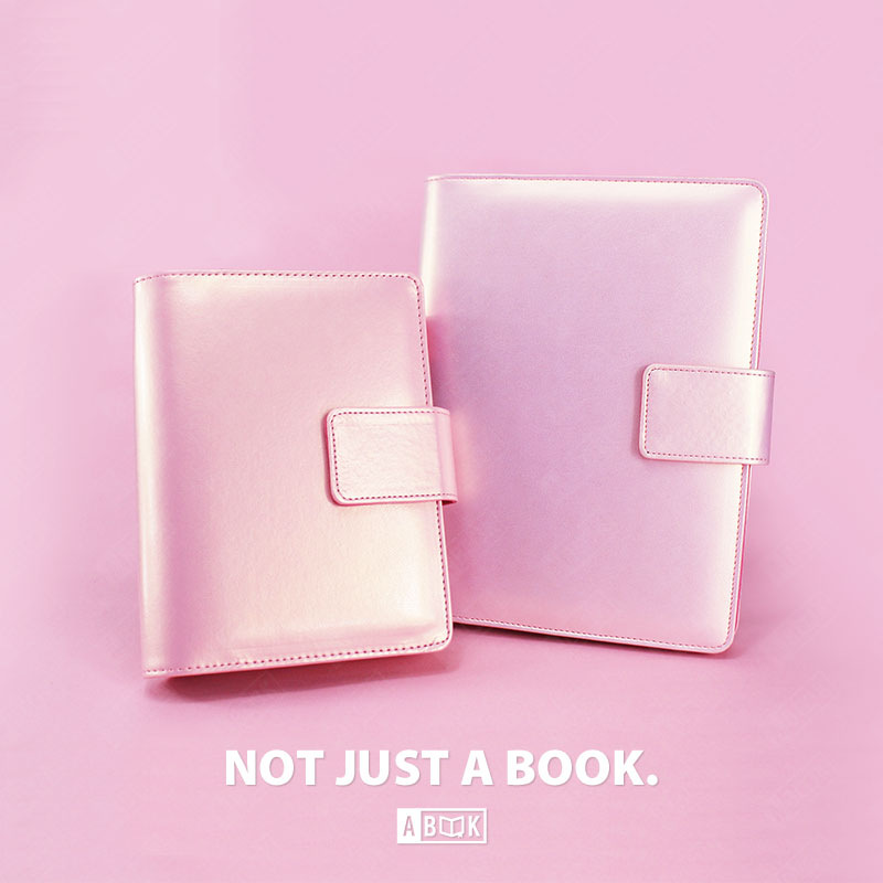 2017 Spiral journal bright pink A5 A6 planner PU leather organizer books diary 80 pages free shipping<br><br>Aliexpress