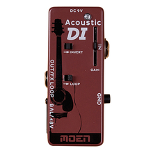 Moen Acoustic DI Effect Pedal Speaker Acoustic Guitar Effects NDI-A2(Hong Kong,China)