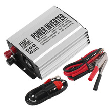 Newest Convenient Practical 500W Watt Car Mobile Power Inverter Converter DC 12V to AC 220V  USB Adapter Free Shipping