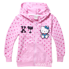hello kitty Girls Hoodies Sweatshirts clothes Kids Children's Clothing Baby Girls Hoodies & Sweatshirts Jacket