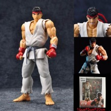SHFiguarts Street Fighter Ryu PVC Action Figure Collectible Model Kids Toys Doll 18CM