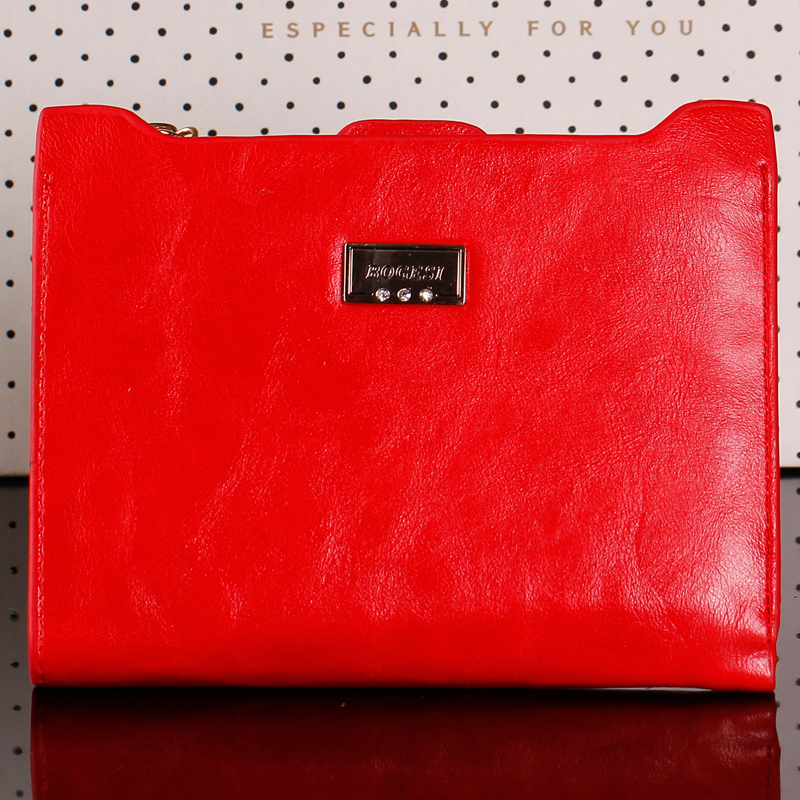 Wallet With Zipper Coin Bag New 2015 Women Wallets Famous Womens Purses Female Wallet Passport Holder ID Card Case<br><br>Aliexpress