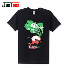Funny Dabbing Radish T shirt mens cheap China Clothes for Children Crewneck Lovely Boys tshirt Youth Cute Top Tee Teenage shirts(China)