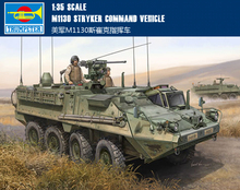 TRUMPETER 00397 1/35 Scale M1130 Stryker Command Vehicle Plastic Model Building Kit(China)
