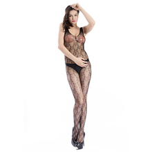 Hot Sale Sex Products Sexy Costumes Women Underwear Lady Lingerie Transparent Conjoined Dress Suit Leotard Intimates(China)