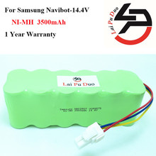 14.4V 3500mAh Battery for Samsung NaviBot:SR8845,VCR8730,SR8990,VCR8845,SR8F30,SR8730,SR8840,SR8750 Vacuum Cleaner Battery