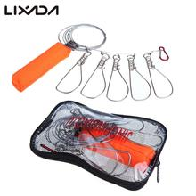 5m Fishing Lock Buckle Stainless Steel Live Fish Lock Belt Fishing Tackle Stringer Fishing Tackle Floats
