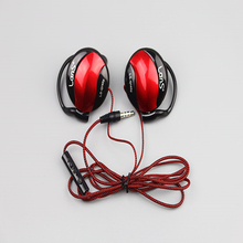 free shipping High Quality Sport Headphones 3.5mm headset earhook Headset for MP3 Player Mobile Phone Computer Headset