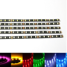 1Pcs 12V 30cm super bright LED Daytime Running light DRL Waterproof 5050 SMD Car Auto Decorative Flexible 18 LED Strip Fog lamp
