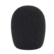 "Neewer Ball Type Foam Windscreen Pop Filter for Condenser Microphone 1.8"" x 1.8"" x 4.7""/ 4.5cm x 4.5cm x 12cm Black"