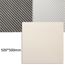 3pcs Stripe Pattern Water Transfer Carbon Fiber Film PVA Dipping Hydrographics Printing Film 50x50cm