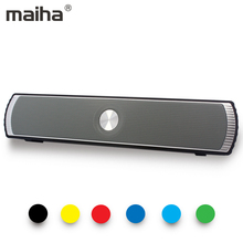 Maiha Updated Bluetooth Speaker Portable Wireless Loudspeakers Sound System stereo Music surround MP3 Speakers for iPhone xiaomi