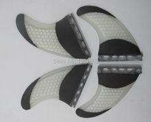 Quad set Surf fin Future carbon honeycomb G5 surfing fins 2 piece side fin 2 piece center rear surf fin