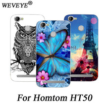 Buy Fashion Phone Case Homtom HT50 HT 50 Soft silicon cover animal flowers Eiffel Towers case Homtom HT50 TPU Phone case for $2.08 in AliExpress store