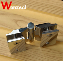 High Quality Pure Copper Glass Hinge for shower room with wide angle at any position(China)