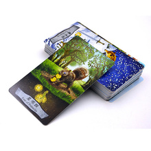 """Animal Tarot"" Board Game 78 PCS/Set New Design Cards Game Chinese/English Edition Tarot Board Game For Family/Friends(China)"