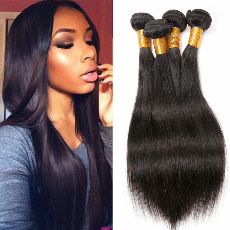 10A Grade Unprocessed Indian Virgin Hair Straight 3 Bundle Peerless Virgin Hair Indian Human Weave Bundles Natural Hair Products<br><br>Aliexpress