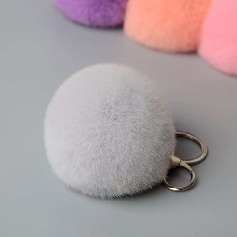 rex rabbit pompom keychbains (5)