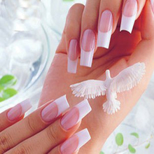 French Manicure Sticker Decoration Nail Art Tips Nail Sticker Nail Art Decals Form Fringe Guides Sticker DIY French Manicure(China)