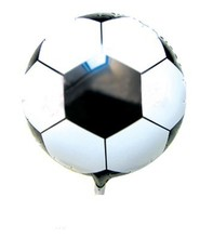 18inch black white ballon football for little boy toys balloon birthday party gift decoration