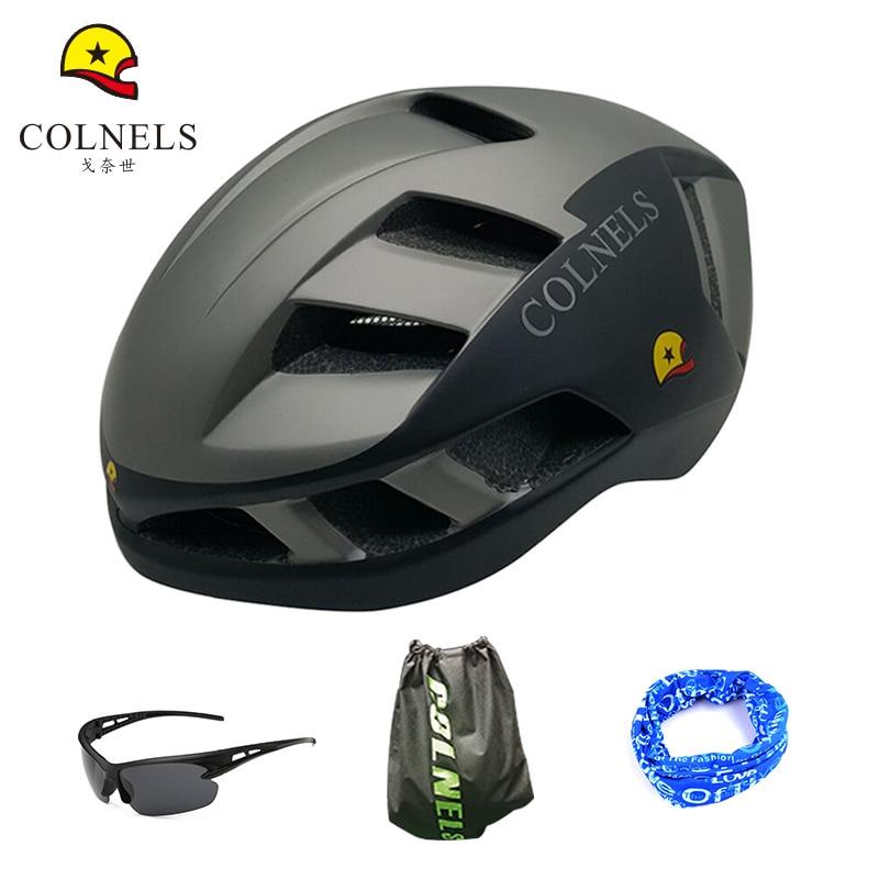 COLNELS Bicycle Helmets Matte  Men Women Bike Helmet C-888 Ultralight Integrally-molded  Mountain Road Cycling Helmets <br>