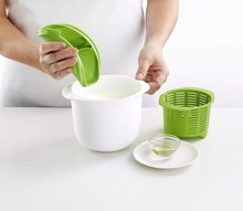Hot Sale DIY Microwave Cheese Maker White Cover with Green Lid Fresh Cheese Making Machine