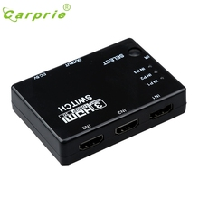 CARPRIE HDMI 3 Input 1 Output Hub Switcher Splitter Box Port for HDTV 1080p Feb17 MotherLander