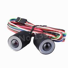 RC Wrangler With Channel Angel Eyes 17mm RC Simulation Climbing Lights Headlamps For 1/10 Scale Models Remote Control Cars(China)
