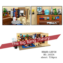 New Lepin 16024 534Pcs IDEAS Series The Big Bang Set action figures Building Blocks Bricks fun Toys For Children Gifts 21302