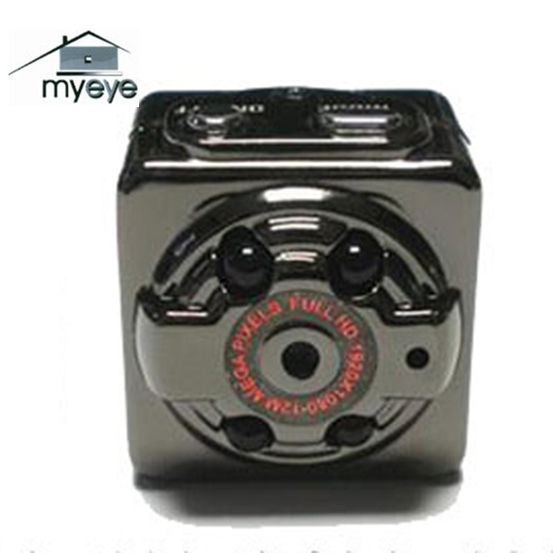 Myeye SQ8 Mini Camera HD 1080P Ultra Portable Mini Camera Support TF Card Small Infrared Night Vision Motion Detection Camera(China (Mainland))