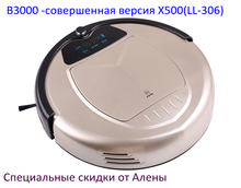 (For Russian buyer) LIECTROUX Robot Vacuum Cleaner X800 on sale, popular in Russia, strong sucktion,updated X500 virtual blocker