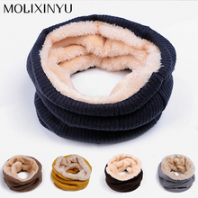 2017 New Cotton Winter Baby Scarf Kids  Children Scarf Girls Scarves For Women Girls/Boys Thick Warm Scarf Drop Shipping