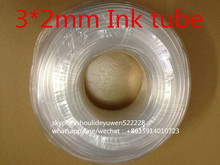 3mm*2mm printer ink tube solvent inks tube for  Mutoh solvent printer damper 3*2mm  ink tube    20M