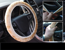 Universal 35-40cm  Car Steering Wheel Cover for Ford focus 2 3 BMW e46 e39 Volkswagen Toyota Chevrolet cruze Opel