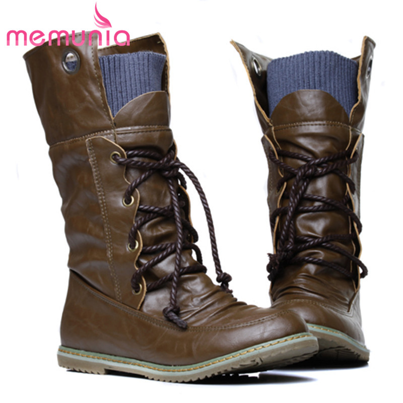 2016 new fashion motorcycle martin ankle boots for women,Autumn winter snow boots leather flats shoes plus size 34-43<br><br>Aliexpress