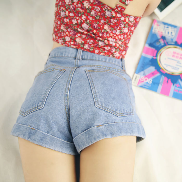 The summer night wind and the original slim jeans short trousers all-match thin lipped student sexy dress pantsОдежда и ак�е��уары<br><br><br>Aliexpress