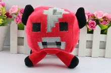 15CM Minecraft Plush Mooshroom Cow plush Toys Creeper Plush