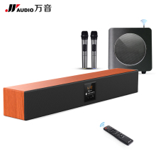 JY AUDIO Wood Bluetooth KTV SoundBar DSP Column Virtual Surround TV Home Theater 5.1 with Wireless Subwoofers Bass Vibro Speaker(China)