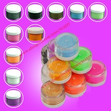 High quality 10 Color Nail art ACRYLIC POWDER Free Shipping(China (Mainland))