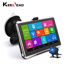 KEELEAD 5 Inch Car GPS Navigation Android 4.4 MTK 8127 WIFI/FM/BT tablet pc GPS Truck vehicle gps free map update