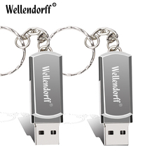 Silver/Gold Metal  usb 2.0 usb flash drive 4gb 8gb 16 gb 32gb 64gb pen drive memory stick pendrive u disk flash drive