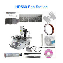 LY HR560 bga machine Laser system bga touch screen control rework station with full set reballing kit PS4 PS3 repair(China)