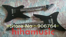 Brand new arrival BC Rich guitar BLACK TM Series Fly ing V special headstock Electric guitar free shipping(China)