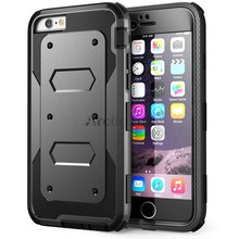 6S Heavy Duty Hybrid Dual Layer Rugged (Hard & Soft) Shockproof Armor Phone Case for IPHONE 6 6s Plus 5 5S SE with belt clip(China)