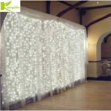 Kingoffer 3M x 3M 300 LED Icicle String Christmas xmas Fairy Lights Outdoor Home For Wedding Party Curtain Garden Decoration(China)