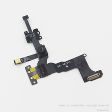 Genuine Original Light Proximity Sensor Flex Cable with Front Facing Camera Assembly for iPhone 5S