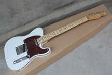 Telecaster musical Instruments Factory custom New white TL guitar electric guitar red Pick Guard   412