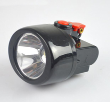KL2.8LM(A) LED 3W 10000LX LED Miner Safety Cap Lamp Light ,3W Cree LED Mining Headlight(China)